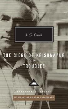 The Siege of Krishnapur - Troubles 0307957845 Book Cover