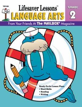 Language Arts (Lifesaver Lessons, Grade 2) 1562341693 Book Cover