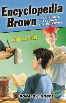 Paperback Encyclopedia Brown Finds the Clues Book
