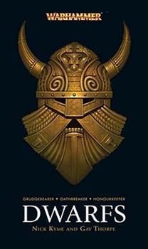 Dwarfs - Book  of the Warhammer Fantasy