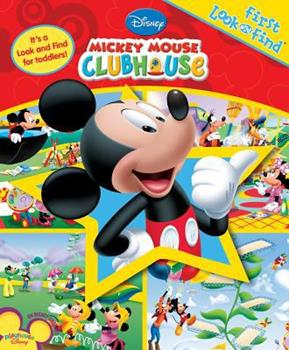 Hardcover Mickey Mouse Club First Look and Find Book