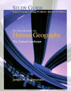 Study Guide for the Cultural Landscape: An Introduction to Human Geography 013224327X Book Cover
