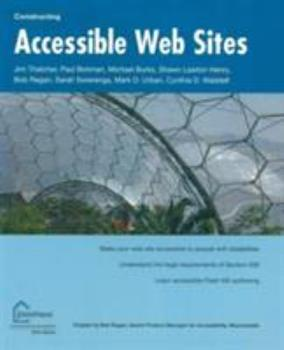 Accessible Websites (Constructing): Section 508 and Beyond 1590591488 Book Cover