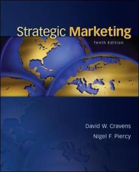 Strategic Marketing 0073381004 Book Cover