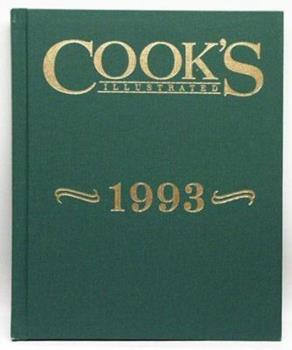 Hardcover Cook's Annual 1993 Book