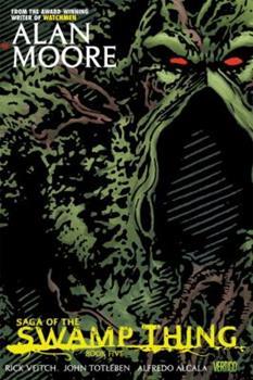 Paperback Saga of the Swamp Thing, Book Five Book