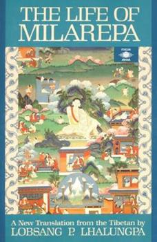 Paperback The Life of Milarepa: A New Translation from the Tibetan Book