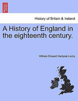 Paperback A History of England in the Eighteenth Century Book