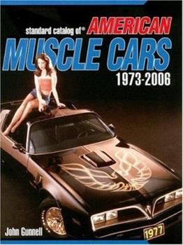 Paperback Standard Catalog of American Muscle Cars 1973-2006(Standard Catalog) Book