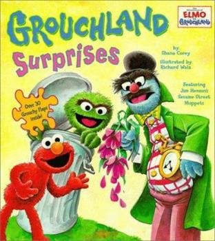 Board book 101 Grouchland Surprises (Elmo in Grouchland) Book