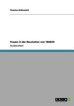 Paperback Frauen in der Revolution Von 1848/49 [German] Book