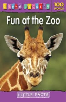 Paperback I Love Reading Little Facts 100 Words: Fun at the Zoo Book