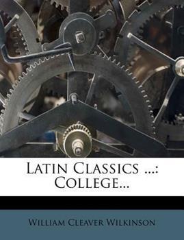 Paperback Latin Classics : College... Book