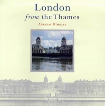 Hardcover London from the Thames Book