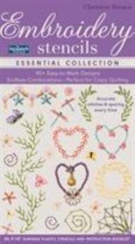 Misc. Supplies Fast2mark(tm) Embroidery Stencils - Essential Collection: 90+ Easy-To-Mark Designs - Endless Combinations - Perfect for Crazy Quilting - Accurate Stit Book