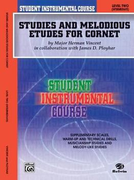 Paperback Studies and Melodious Etudes for Cornet: Level Two (Intermediate) Book