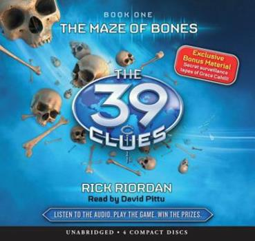The Maze of Bones 0545100755 Book Cover