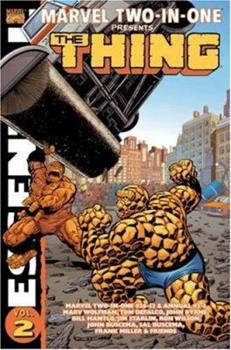 Essential Marvel Two-In-One Volume 2 TPB (Essential Marvel Two in One) - Book  of the Essential Marvel