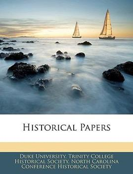 Paperback Historical Papers Book