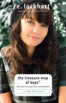 The Treasure Map of Boys (Ruby Oliver, #3) 0385734263 Book Cover
