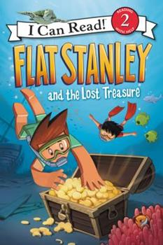 Flat Stanley and the Lost Treasure 0062365959 Book Cover