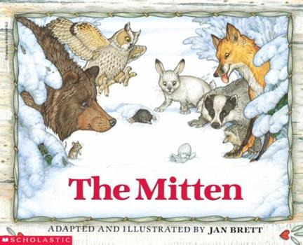 Paperback The Mitten Book