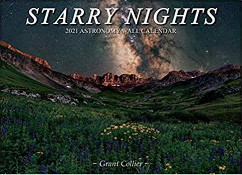 Calendar Starry Nights 2021 Astronomy Wall Calendar Book