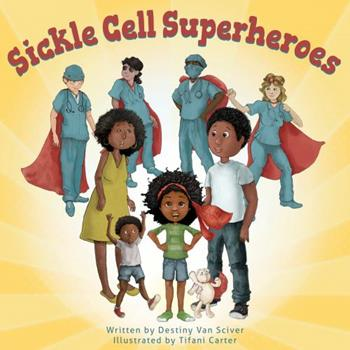 Paperback Sickle Cell Superheroes Book
