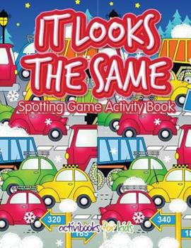 Paperback It Looks the Same Spotting Game Activity Book