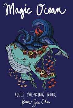 Paperback Magic Ocean: A Creative Adult Coloring Book