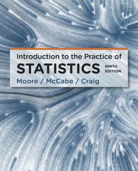 Introduction to the Practice of Statistics 0716719894 Book Cover