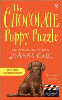 The Chocolate Puppy Puzzle (Chocoholic Mystery, Book 4) 0451213645 Book Cover