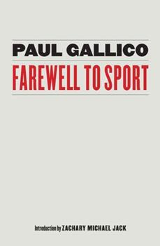 Farewell to Sport 0671699156 Book Cover