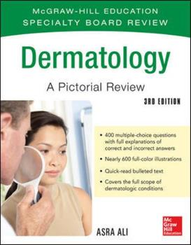 McGraw-Hill Specialty Board Review Dermatology a Pictorial Review 3/E 0071793232 Book Cover