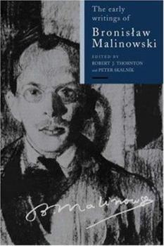 Hardcover Early Writings Bronislaw Malin Book