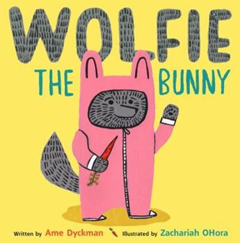 Hardcover Wolfie the Bunny Book