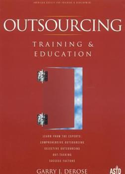 Paperback Outsourcing Training and Education Book