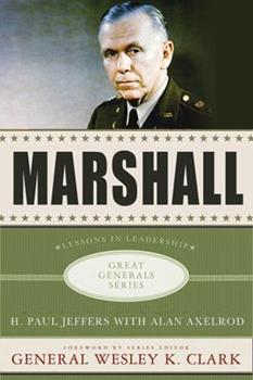 Marshall: Lessons in Leadership 0230614167 Book Cover