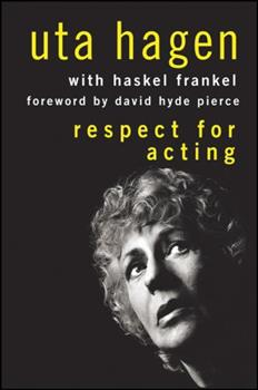 Hardcover Respect for Acting Book