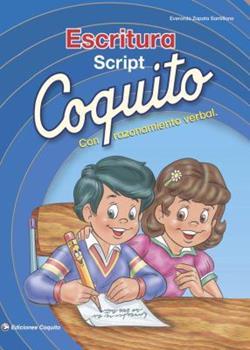 Paperback Coquito Escritura Script con Razonamiento Verbal (Spanish Edition) [Spanish] Book