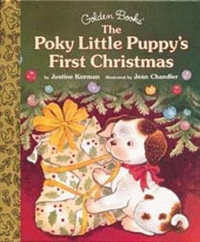 Hardcover Poky Little Puppy's First Christmas (Little Golden Storybook) Book