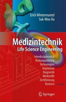 Hardcover Medizintechnik: Life Science Engineering [German] Book
