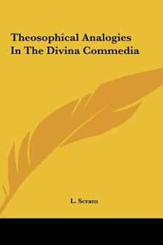 Hardcover Theosophical Analogies in the Divina Commedi Book