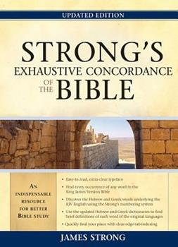 Hardcover Strong's Exhaustive Concordance of the Bible Book