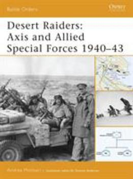 Desert raiders: Axis and Allied Special Forces 1940-43 (Battle Orders) - Book #23 of the Osprey Battle Orders