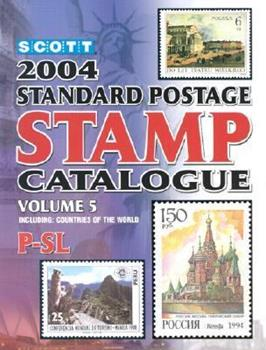 Scott 2004 Standard Postage Stamp Catalogue, Vol. 5: Countries Of The World P Slovenia 0894873156 Book Cover