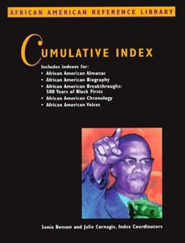 African American Reference Library Cumulative Index. (African American Reference Library) 078761856X Book Cover