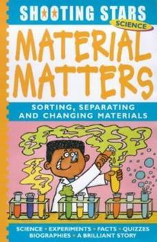 Hardcover Material Matters (Shooting Stars) Book