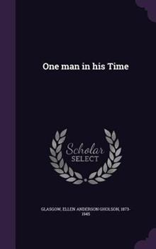 One Man in His Time 1534741607 Book Cover