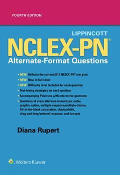 Paperback Lippincott Nclex-PN Alternate-Format Questions Book